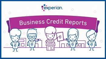 How to access your Experian business credit report.